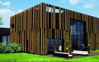 Construction du nouveau bâtiment MATLEX : Projet Croisette