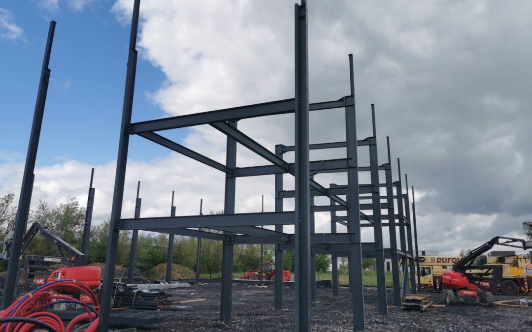 Avancement des travaux de notre nouveau bâtiment PA de la Croisette